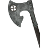 Battle-Worn Baruk LARP Axe - 144cm