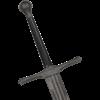 Battle-Worn Bellator II Two-Handed LARP Sword