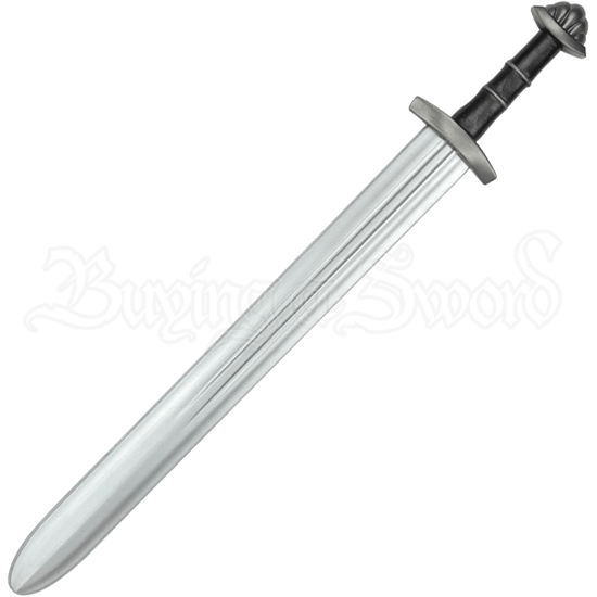 Viking II LARP Short Sword - Black Handle