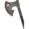Battle-Worn Yngvar Raven Feeder LARP Axe