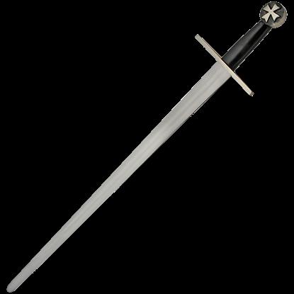 Templar Cross Sword with Scabbard Belt