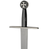 Templar Cross Sword with Scabbard Belt