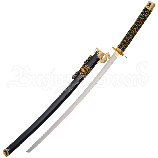 Black Dragon Guard Katana