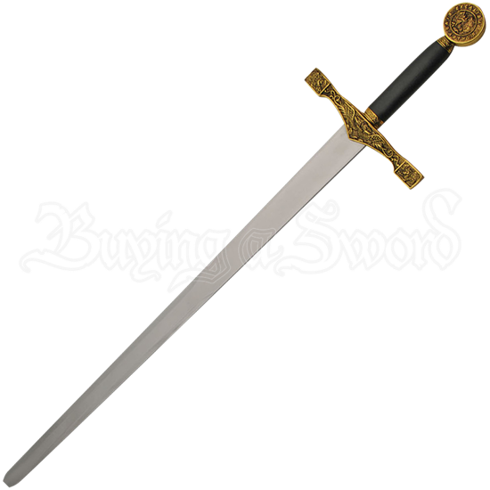 Gold Excalibur Sword of King Arthur