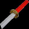 Red Foam Samurai Katana