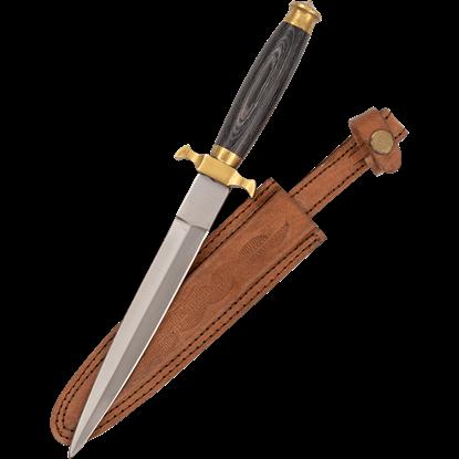 Renaissance Black Horn Dagger