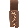 Leather Dagger Frog - Brown