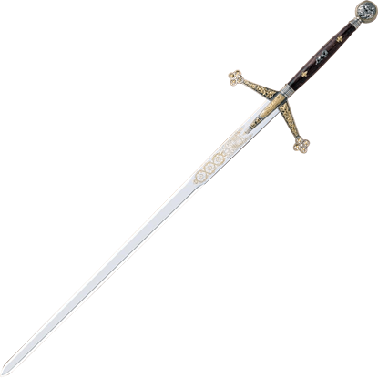 Silver And Gold Claymore