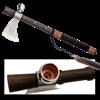 Tomahawk Peace Pipe Axe
