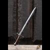 Battleworn Footman LARP Sword