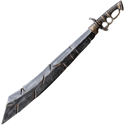 Battleworn LARP Trench Knife - 85 cm