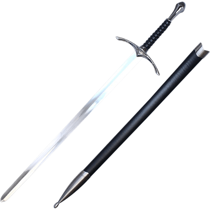 Black Hilt Chivalry Sword