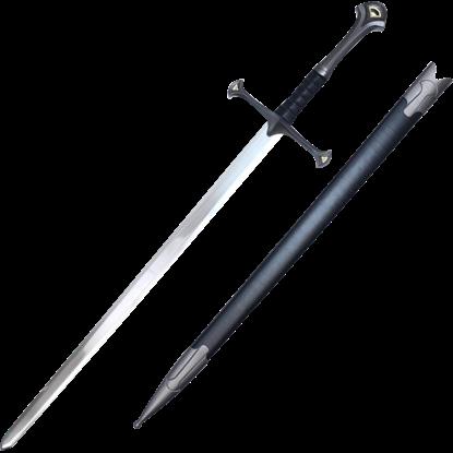 Fan Pommel Medieval Sword