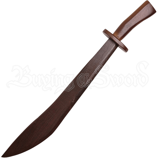Wooden Chinese Saber Sword