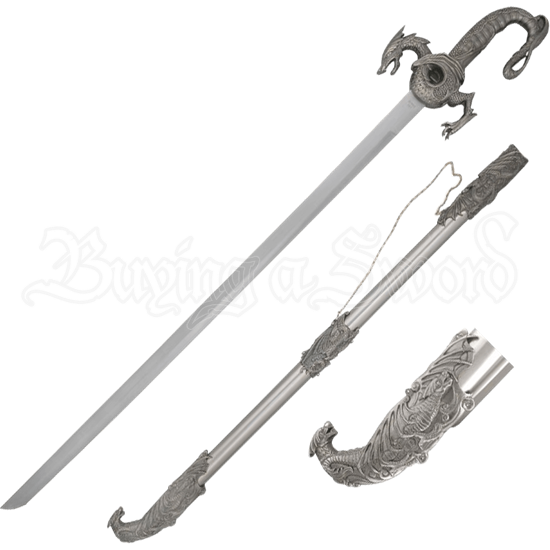 Dragon Hilt Sword with Dragon Scabbard