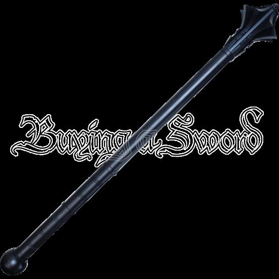 Black Medieval Mace Dagger
