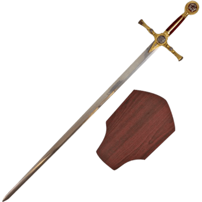 Red Masonic Short Sword