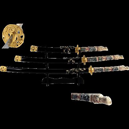 Black Dragon Guardian Sword Set