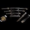 Black Bamboo Blade Set