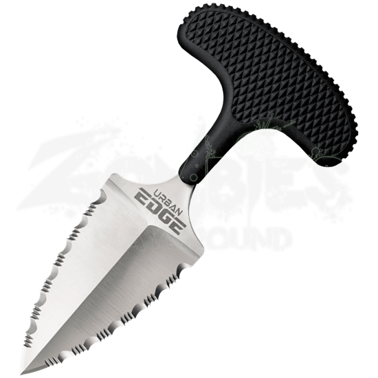 Serrated Urban Edge Push Knife by Cold Steel
