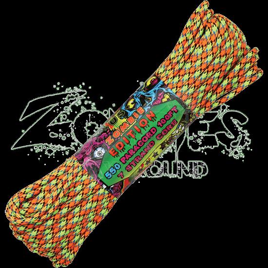 Zombie Virus Parachute Cord