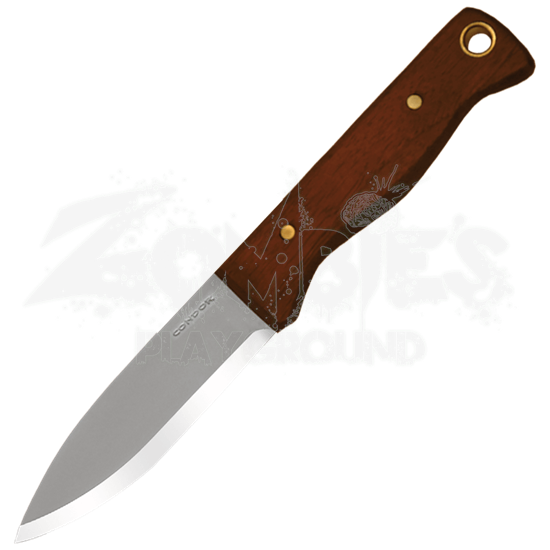 Bushlore Knife - Hardwood Handle