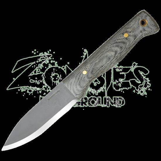 Bushlore Knife - Micarta Handle
