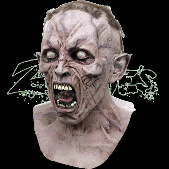 Deluxe WWZ Screaming Zombie Mask