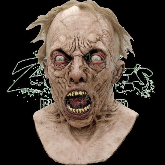 Deluxe WWZ Zombified Scientist Mask