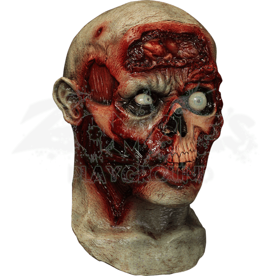 Pulsing Zombie Brains Mask
