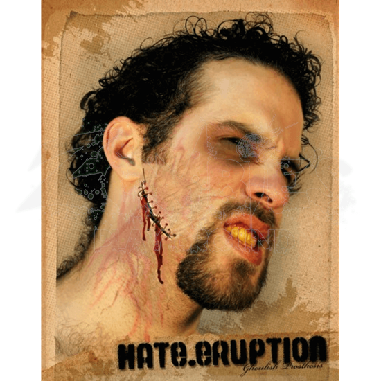 Hate Eruption Prosthetic