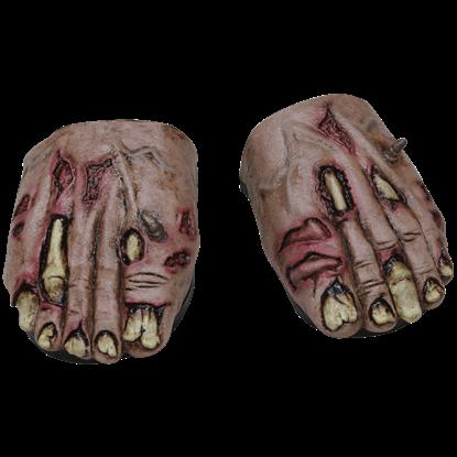 Zombie Flesh Cover Feet