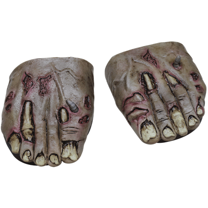 Rotted Zombie Cover Feet