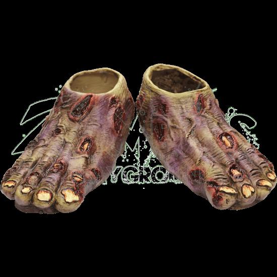 Undead Zombie Costume Feet