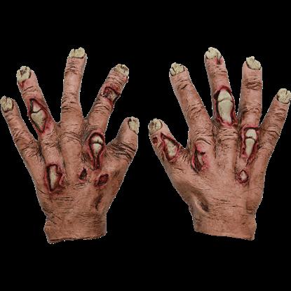 Junior Zombie Flesh Gloves