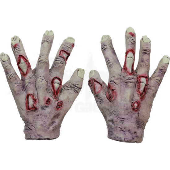 Junior Undead Zombie Gloves