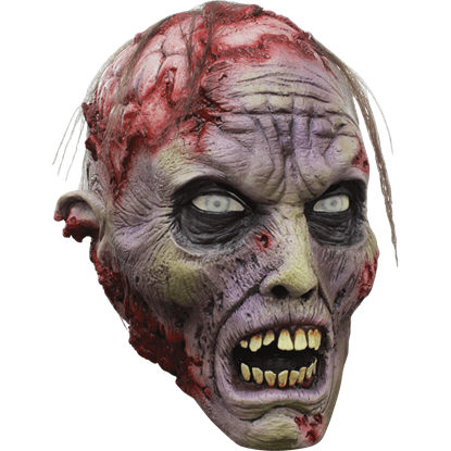 Exposed Brains Zombie Mask