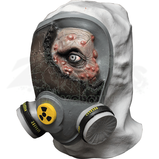 Toxic Zombie Costume Mask