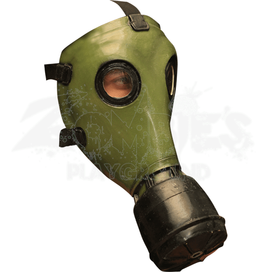 GP-5 Green Gas Mask