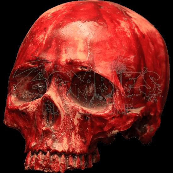 Bloody Resin Skull
