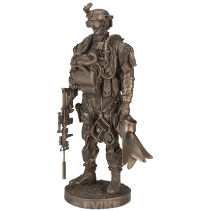 Navy Seal Statue