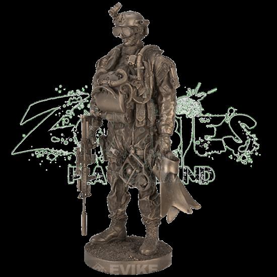 Navy Seal Statue