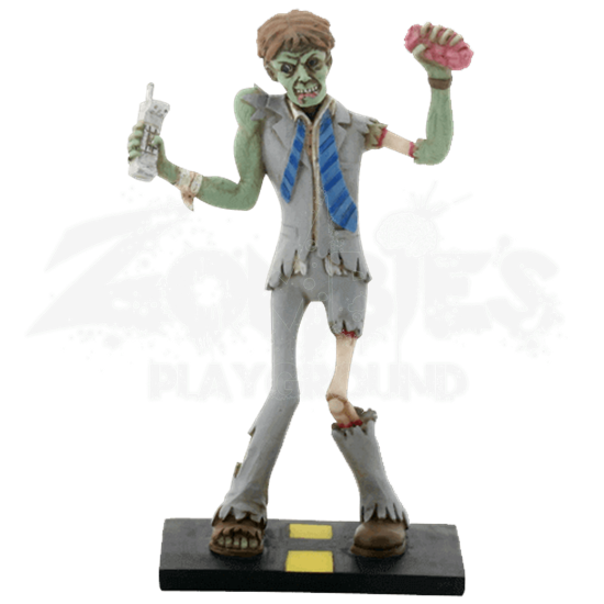 Zombie Businessman Statue