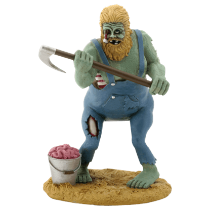 Hillbilly Harvest Zombie Statue