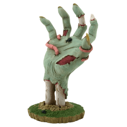 Ground Burster Zombie Hand Figurine