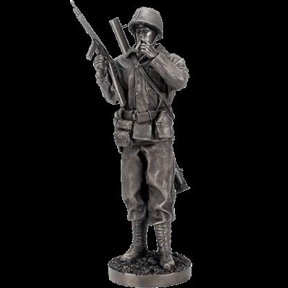 WWII Sergeant Statue