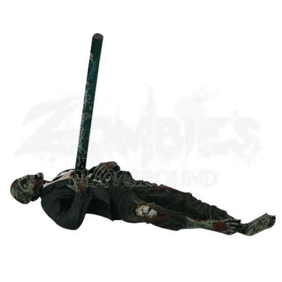 Impaled Zombie Pencil Holder