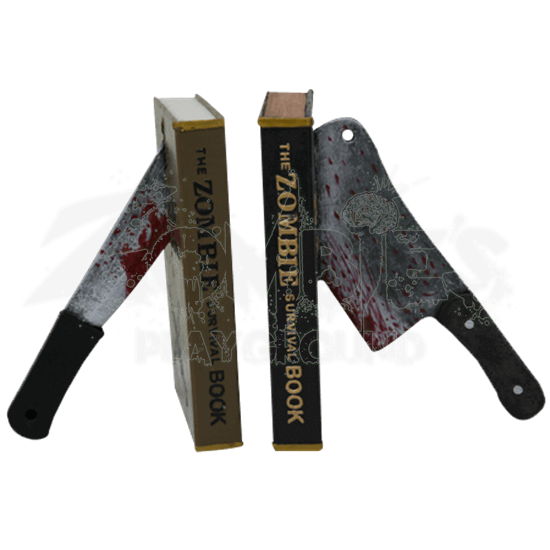 Zombie Survival Bookends