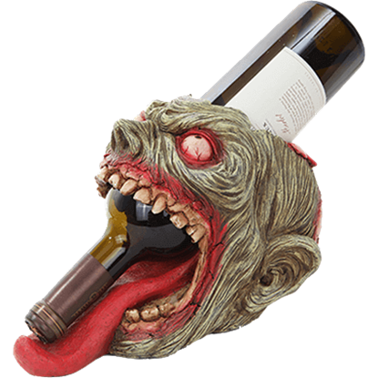 Zombie Head Wine Holder