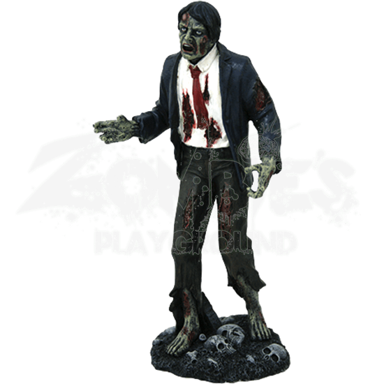 Zombie Businessman Statue